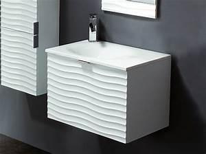 Waschtisch 50 X 40 : badm bel set g ste wc waschbecken handwaschbecken verona weiss wenge 60cm ~ Bigdaddyawards.com Haus und Dekorationen