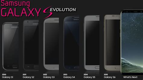 samsung galaxy  history evolution   youtube