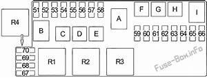 Fuse Box Diagram Infiniti Qx4  1996