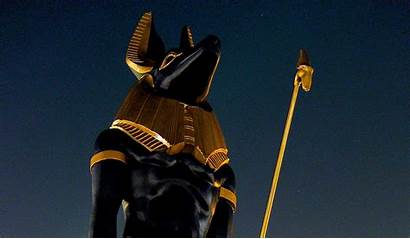 Egyptian Anubis Egypt God Backgrounds Statue Wallpapers