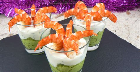 une cuisine pour voozenoo verrines à la mousse d 39 avocat crème et gambas une