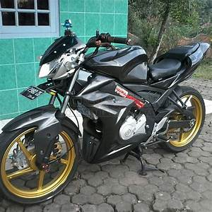 Modifikasi Yamaha All New Vixion