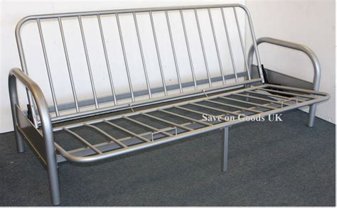 Sofa Bed Steel by Metal Futon Sofabed Frame Silver Sofa Bed Futon