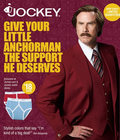 The Classiest Ron Burgundy Anchorman Products From