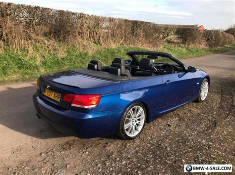 Bmw 325i Convertible For Sale by 2007 Sports Convertible 3 Series For Sale In United Kingdom