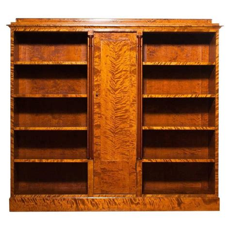 1923, Beautiful Art Deco Bookcase Made By John Alsterlunds