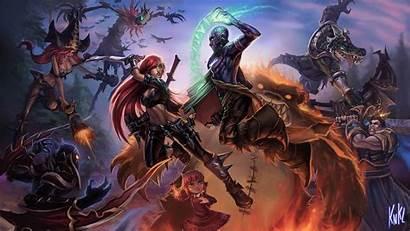 Legends League Wallpapers Renekton Backgrounds Wall