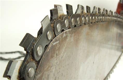Chainsaw chain maintenance. Detailed guide