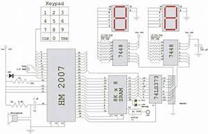 Voice Recognition Circuit Diagram