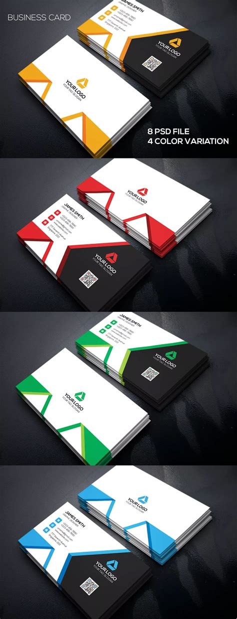corporate business card tempate psd  images