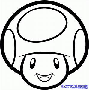 How to Draw Toad Easy, Step by Step, Video Game Characters ...
