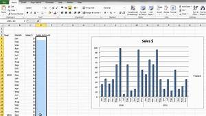 How To Make A Bar Graph In Microsoft Excel 2010 For