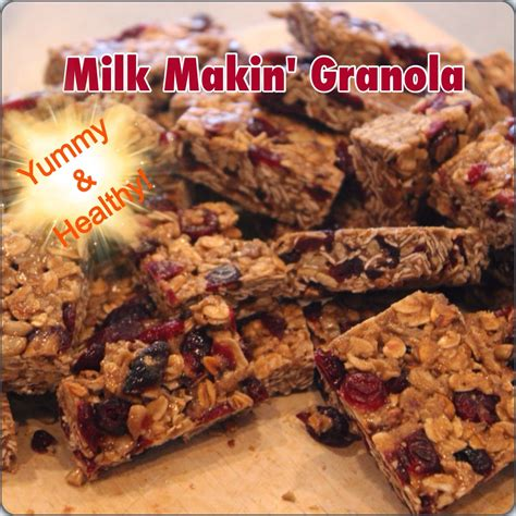 Wise Mommas Milk Makin Granola Bars Not Only Will These