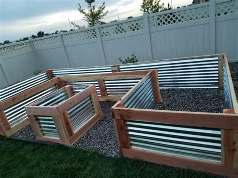 beautiful custom raised garden bed my husband and i just