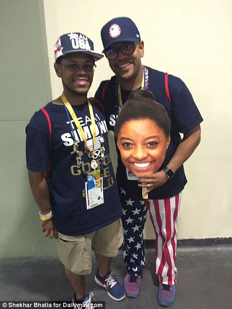 Simone Biles and Her Brothers