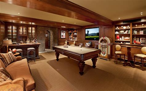Gameroom : How To Create The Ultimate Man Cave-sierra Home Services