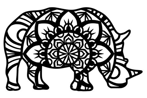 For more layered mandalas you may like these: Layered Animal Mandala Svg Free For Crafters - Layered SVG ...