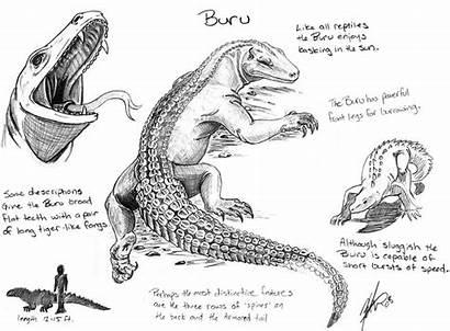 Buru Giant Den Creatures Burus Deviantart Lizards