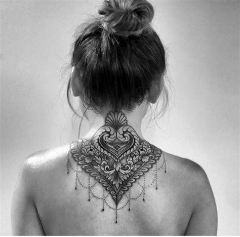 mandala   neck tattoos pinterest tatouage