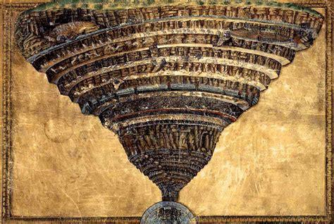 botticellis map  hell la mappa dellinferno