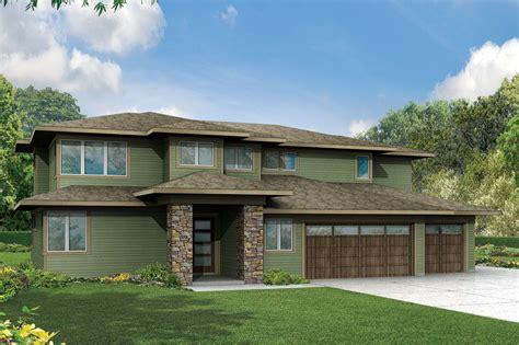 prairie style house plans brookhill