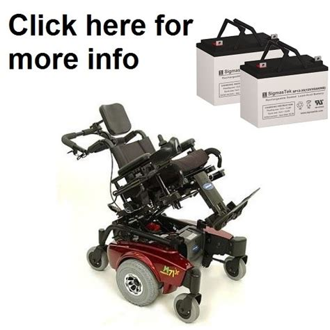 Pronto Power Chair Batteries by Invacare Pronto M71 Jr Power Wheelchair Replacement