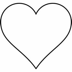 Outline Of Love Hearts - ClipArt Best