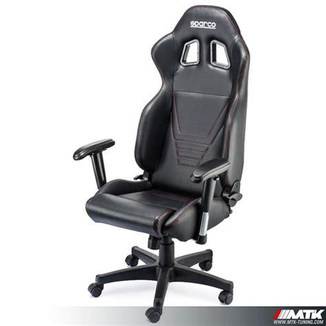 siège baquet bureau sparco fauteuil gamer chaise gamer