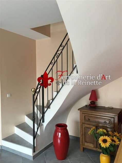 re en fer forg 233 sur mesure pour escalier int 233 rieur 224