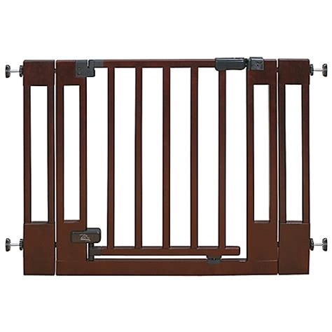 Summer Infant Decor Baby Gate by Summer Infant 174 Decorative Wood And Metal 5 Foot Pressure