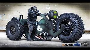 The Rc4wd Monster Trike