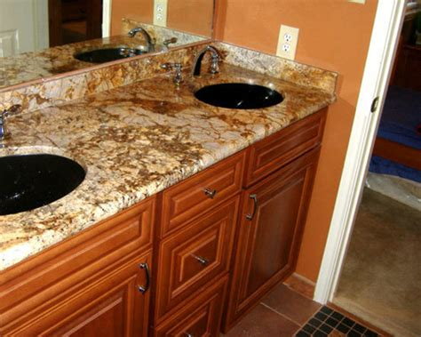Granit Waschbecken Bad by Granite Bathroom Countertop With Sinks Bathroom