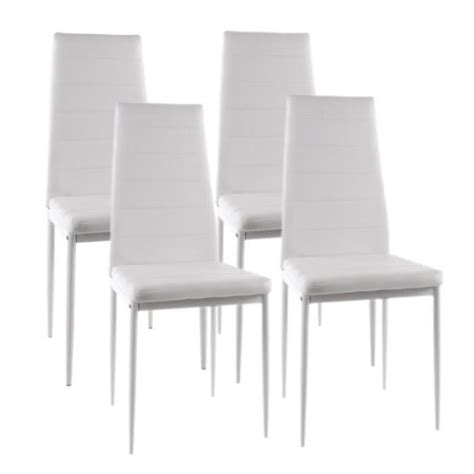 lot de chaise salle a manger chaises blanches salle a manger maison design modanes com