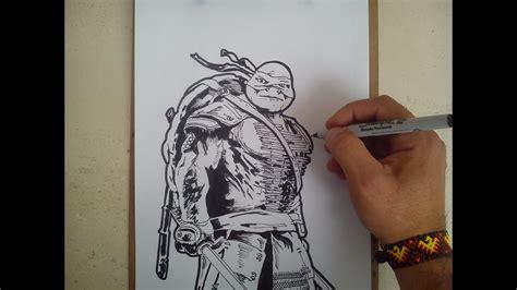 Dibujos Para Colorear De Tortugas Ninja 2 Impresion gratuita