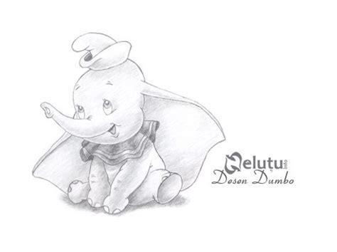 disney cartoon pencil drawings dumbo pencil drawing