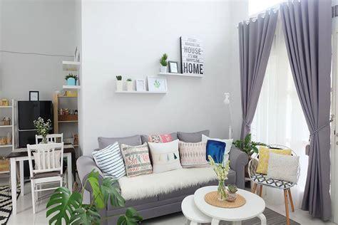 interior ruang tamu kecil mewah  contoh desain ruang