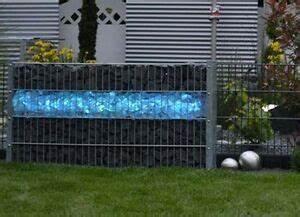 L Steine 1m : led leuchte gabionen stein zaun beleuchtung 140cm 360 ~ A.2002-acura-tl-radio.info Haus und Dekorationen