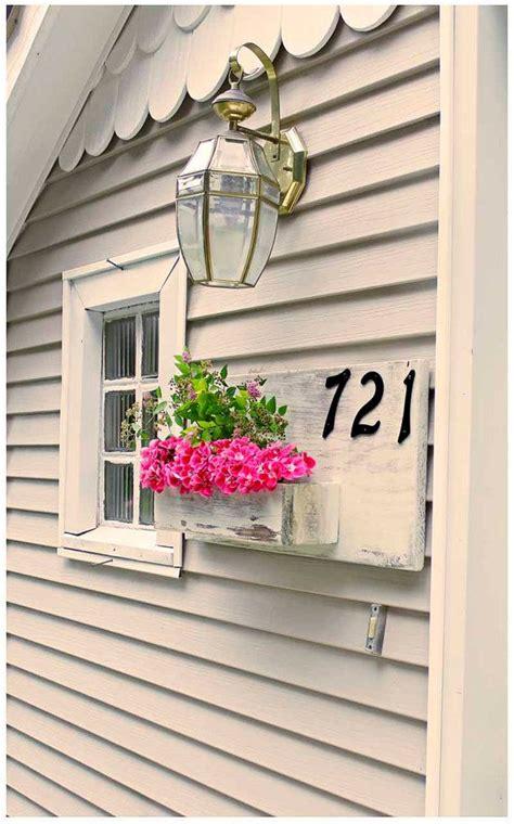 spring decor spring planter box address planter address