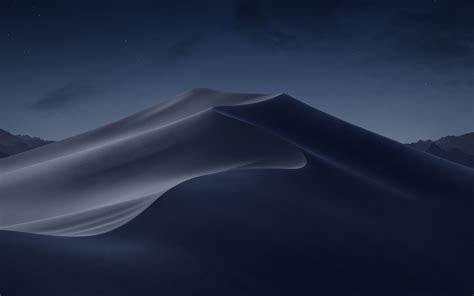 Macos Mojave Night Desert 5k Wallpapers Wallpapers Hd