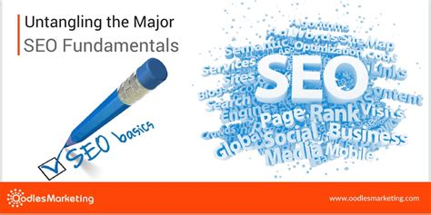 Seo Fundamentals by Untangling The Major Seo Fundamentals