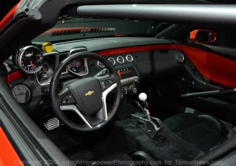 The interior of the 2012 COPO Camaro Convertible | Torque News