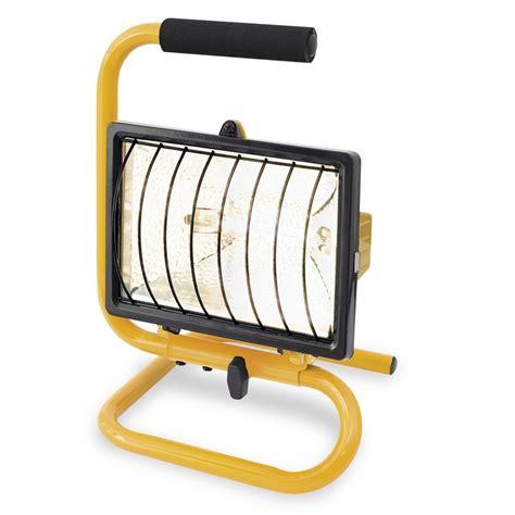 portable halogen work light arlec 500w portable halogen worklight ebay