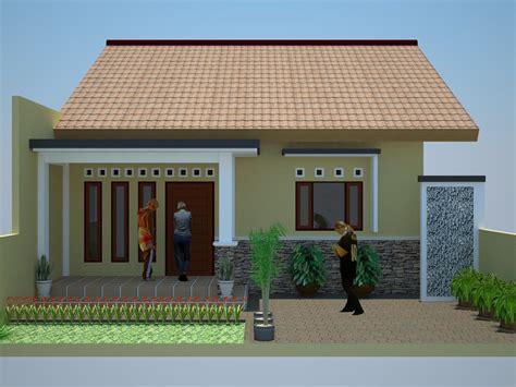 desain rumah sederhana  cantik  contoh desain rumah