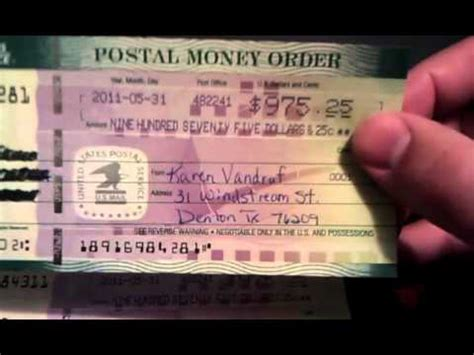money order youtube