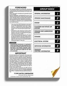 Suzuki Gsx1300r Hayabusa Service Manual 1999 2003