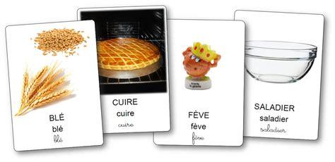 ustensiles de cuisine vocabulaire l 39 imagier de la recette de la galette des rois imagier