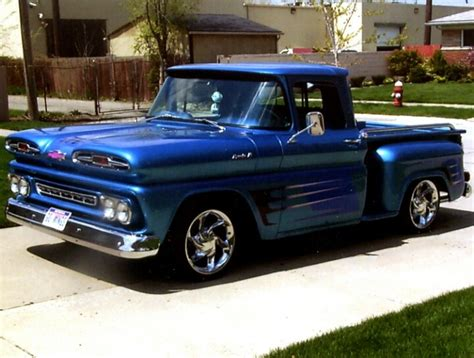 first chevy this is my first vehicle 1961 chevy apache stepside
