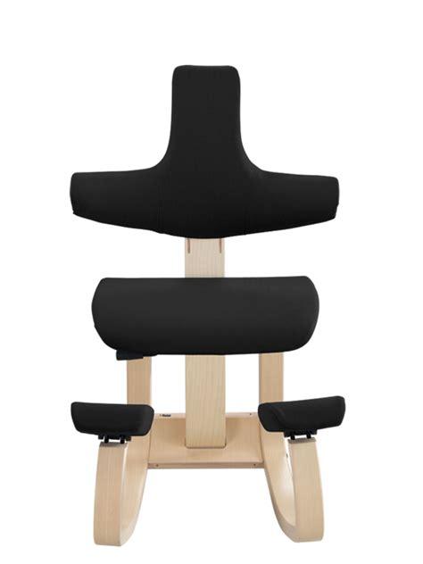 chaise assis genoux thatsit balans chaise assis genoux ergonomique