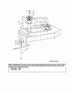 Deck Pulley  Rotary Blade Diagram  U0026 Parts List For Model