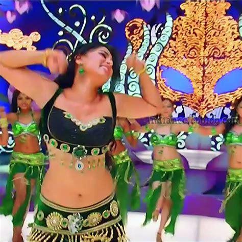 Anushka Shetty Mirchi Telugu S Hot Song Caps Indian